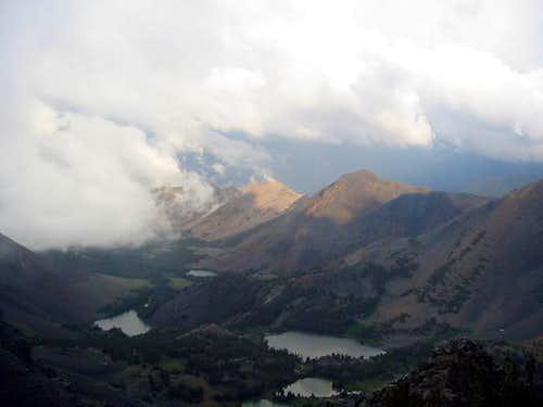 The summit of South Peak...