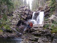 Weminuche Waterfall