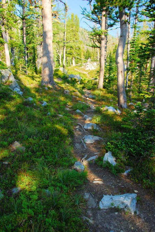 Typical Trail Above Lakes