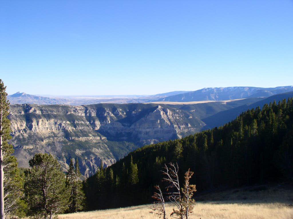 Heart Mountain From Clark's Fork