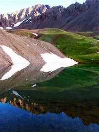 Reflecting on Mount Sneffels