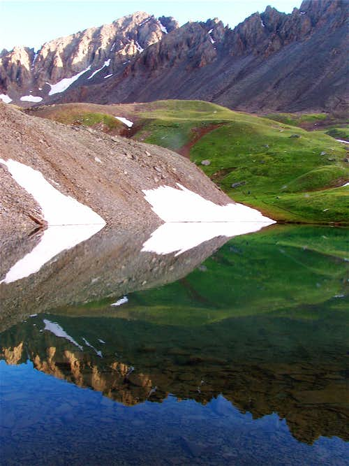 Reflecting on Mount Sneffels