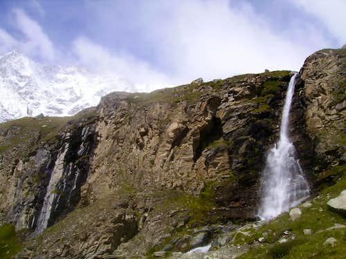 waterfall, near Cervinia