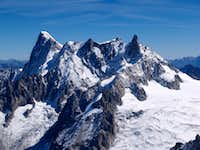 Grandes Jorasses and Dent du Géant