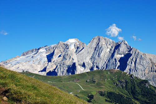 Marmolada, queen of Dolomites