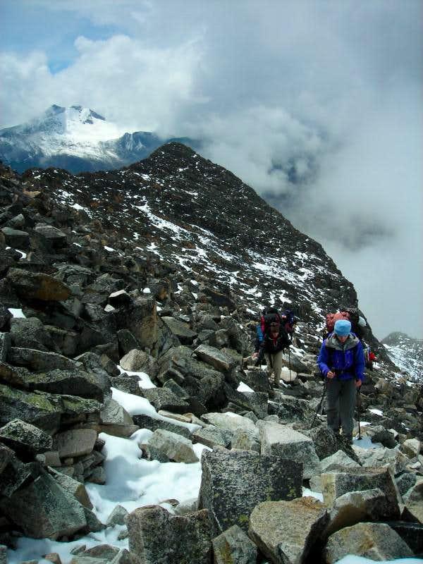 Climbing Huayna Potosi (6088m)