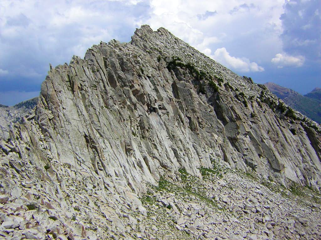 West Ridge of Bighorn Peak