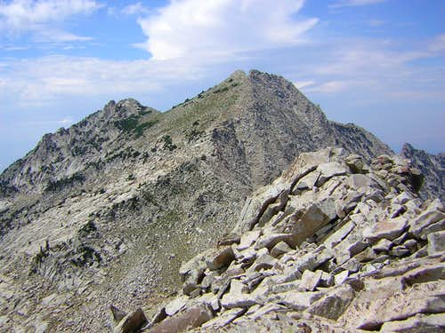 Lone Peak from Bighorn Peak
