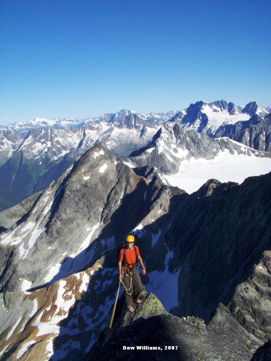 Northwest Ridge, III, 5.4