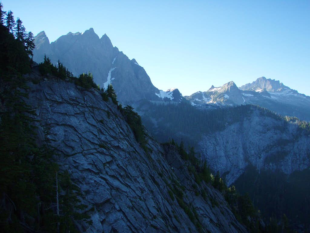 View from Green Giant Buttress