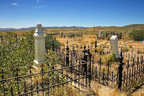 Tuscarora, NV cemetery