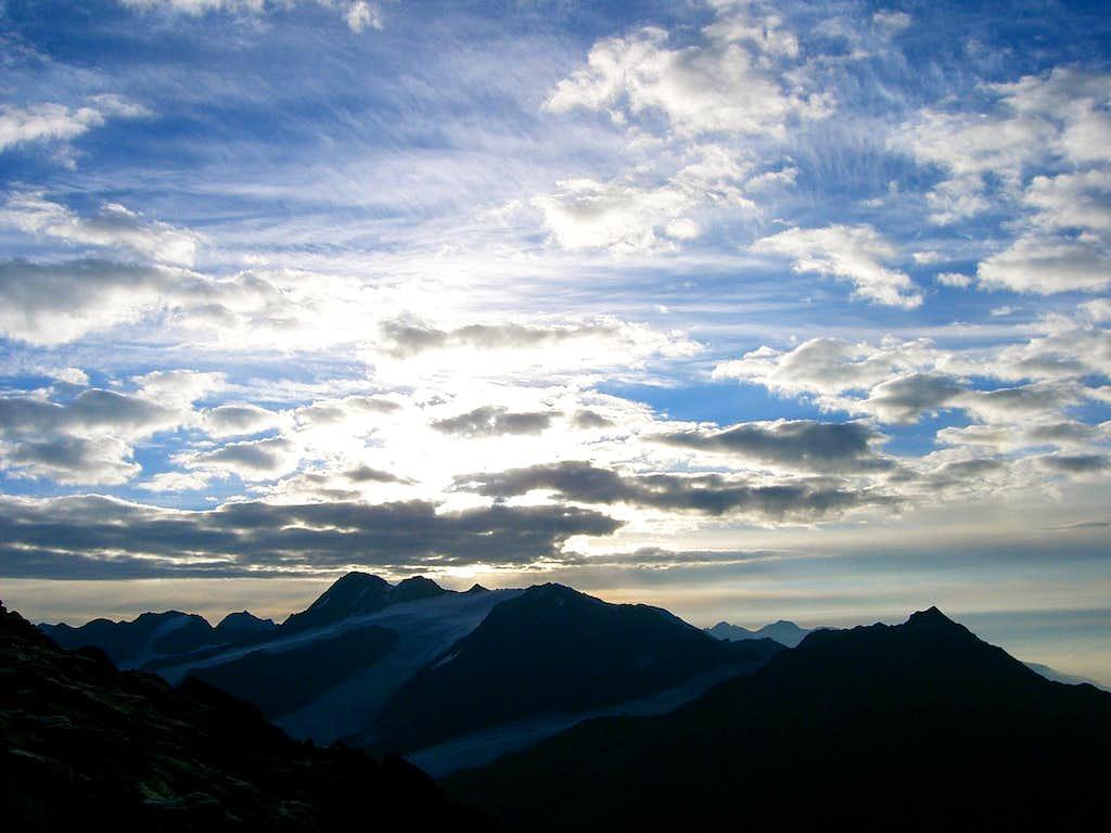 Finailspitze - View from Teufelsegg
