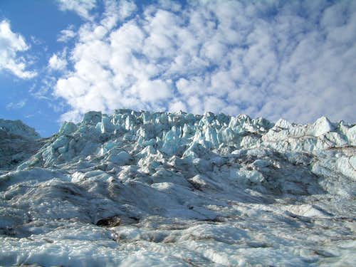 Coleman Glacier Icefall