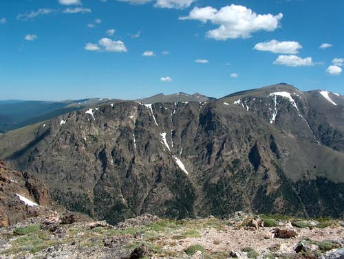 Mount Chapin from Sundance Mountain