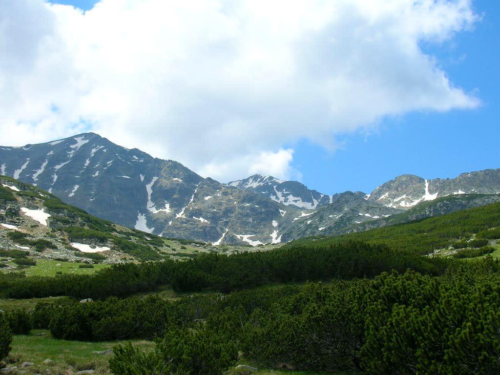 Mussla from the valley of Musalenska Bistrica