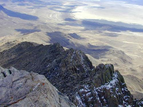 A view of the South Ridge in...