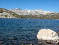Rodgers Peak from Waugh Lake