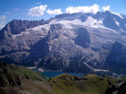 Highest mountain in Dolomites