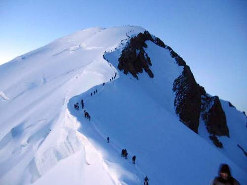 One of the most overcrowded summits