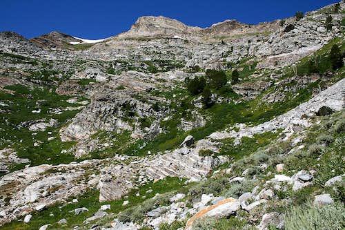 Greys Peak ascent