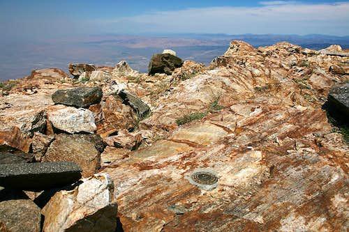 Greys Peak benchmark