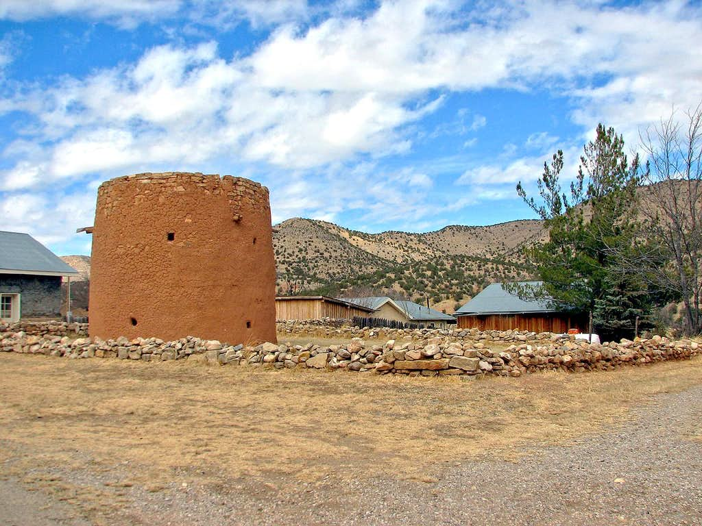 The Torreon in Lincoln, New Mexico