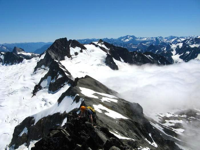East Ridge Direct, Forbidden Peak