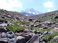 Mt. Erciyes 3918 m. Approach...