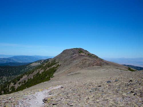 Church Peak from the ridge