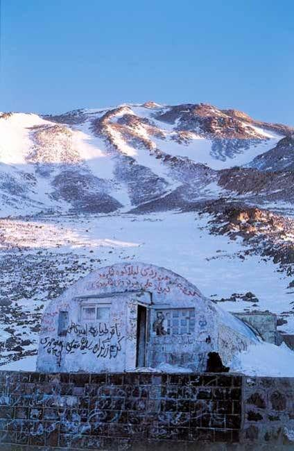 Second Shelter, 4200 m.