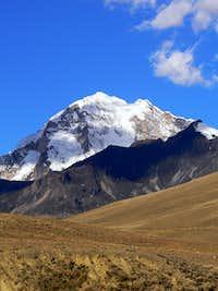 West side of Huayna Potosi