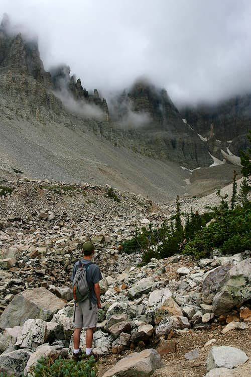 The Rock Glacier on Wheeler Peak