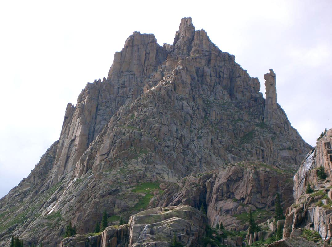 Jagged Mountain's East Face
