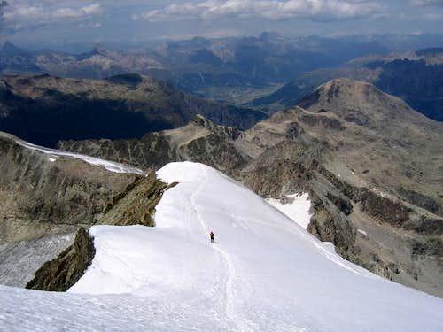 The Northern ridge of Piz Morteratsch