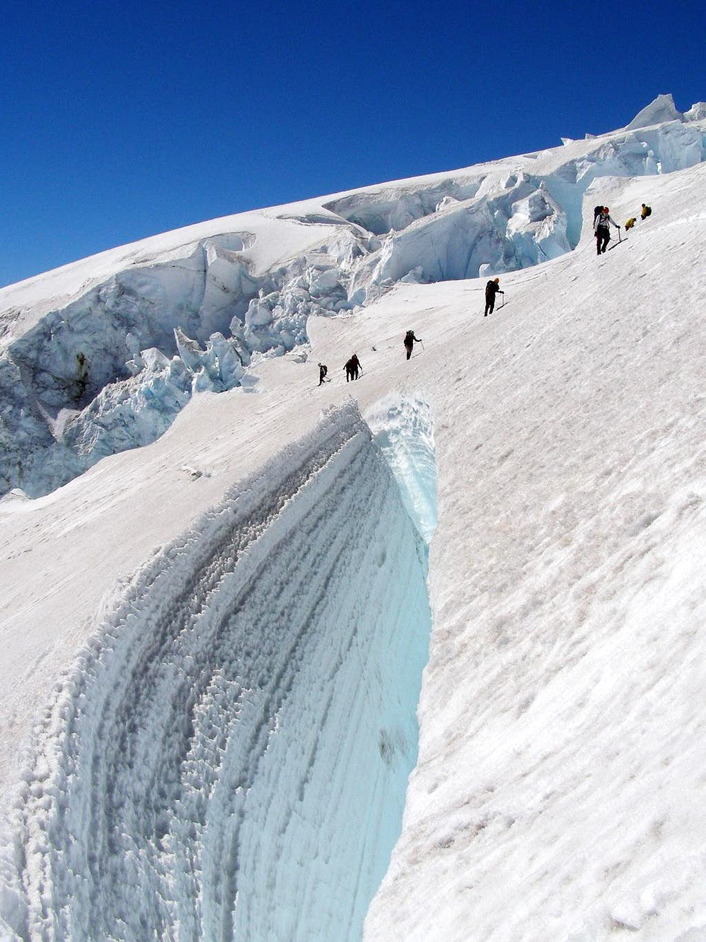 Above The Crevasse