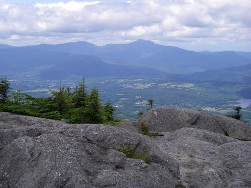 Camels Hump and the Allen Range from Mt. Hunger