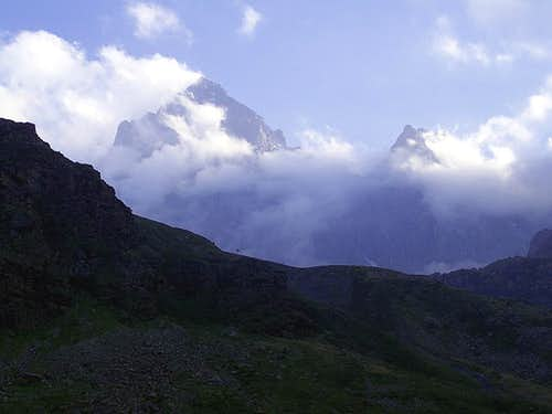 Monviso in the afternoon
