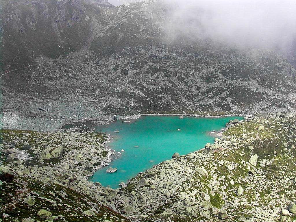The Chiaretto lake