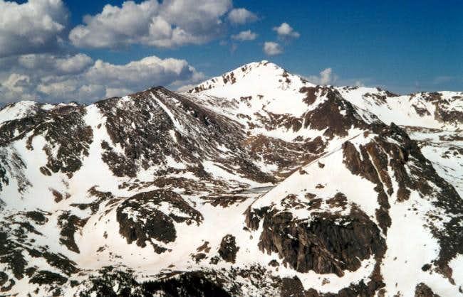 Jasper Peak from near the...