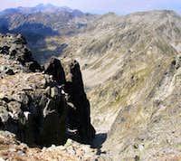 View from Jalovarnika peak
