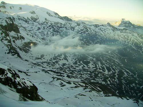 view of Pennine Alps