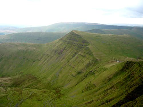 Y Cribin from Pen y Fan