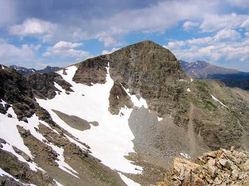 Sawtooth Mountain\'s south...
