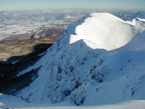 Golic (1723m) and its north...