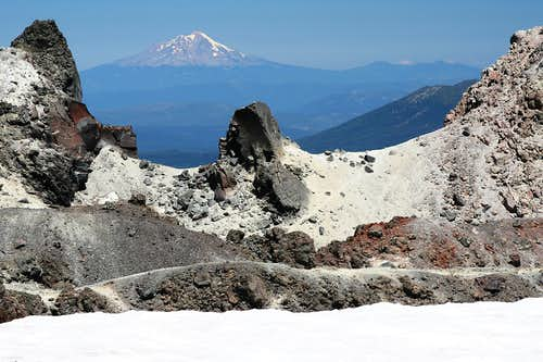 Mt. Shasta from Lassen Peak