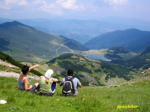 View on Prokosko lake