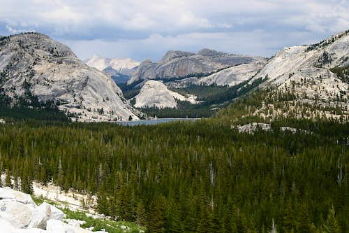 Tenaya Lake and Pywiack Dome