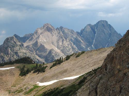 Thor Peak and Mount Moran