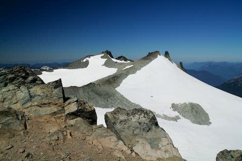 Mt Daniel West Peak & Middle Peak