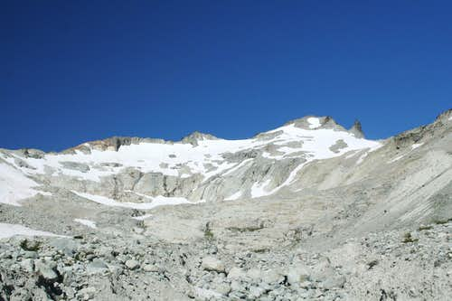 Mt. Daniel, Hyas Glacier variant